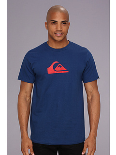 SALE! $16.32 - Save $4 on Quiksilver Mountain Wave Tee (Twilight Blue) Apparel - 18.40% OFF $20.00