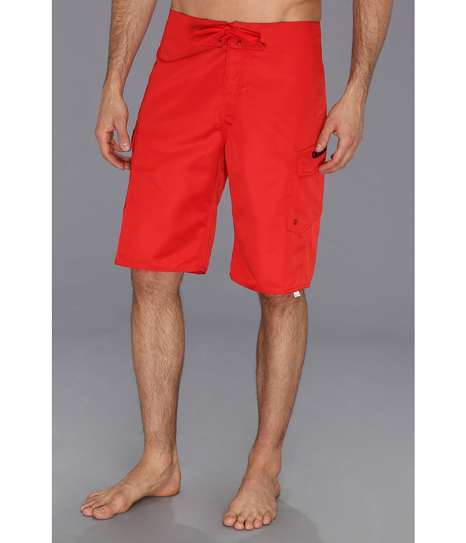 Quiksilver - Manic Boardshort (Comp Red) Men's Swimwear