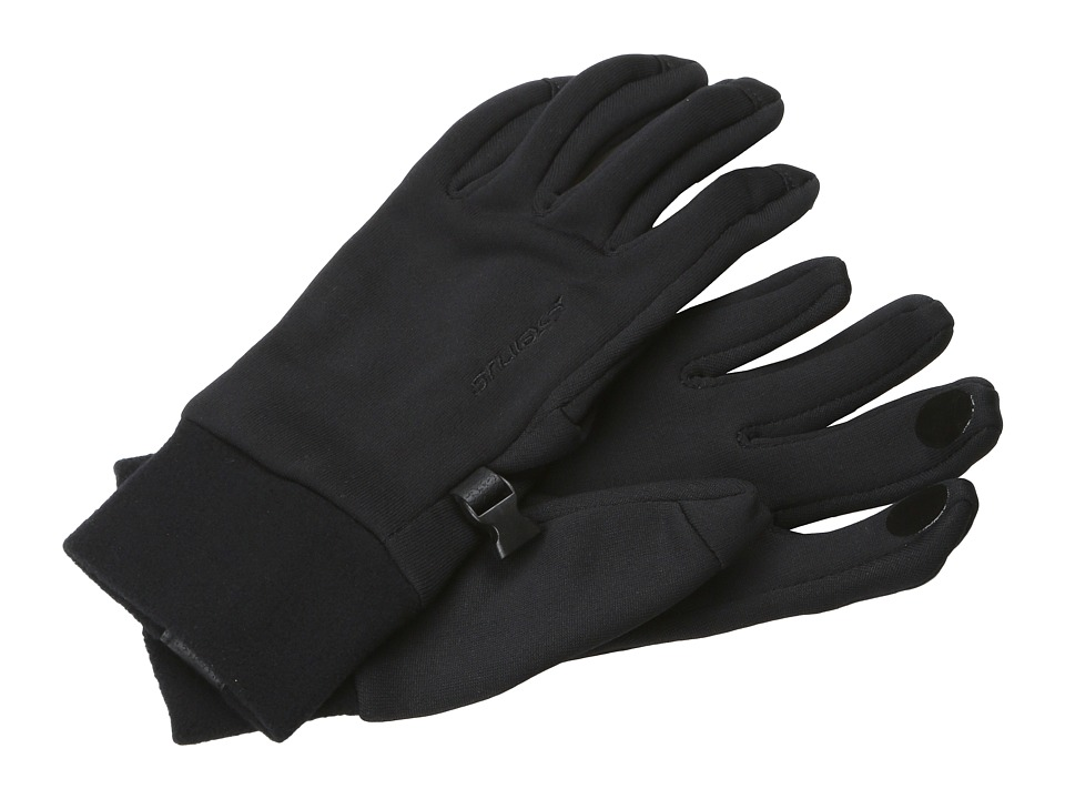 Seirus - Powerstretch Fleece Liner (Black) Liner Gloves