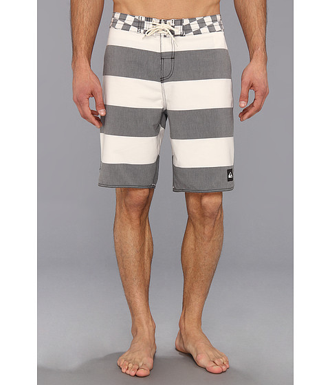 Quiksilver - Brigg Scallop Boardshort (Cloud) Men's Swimwear