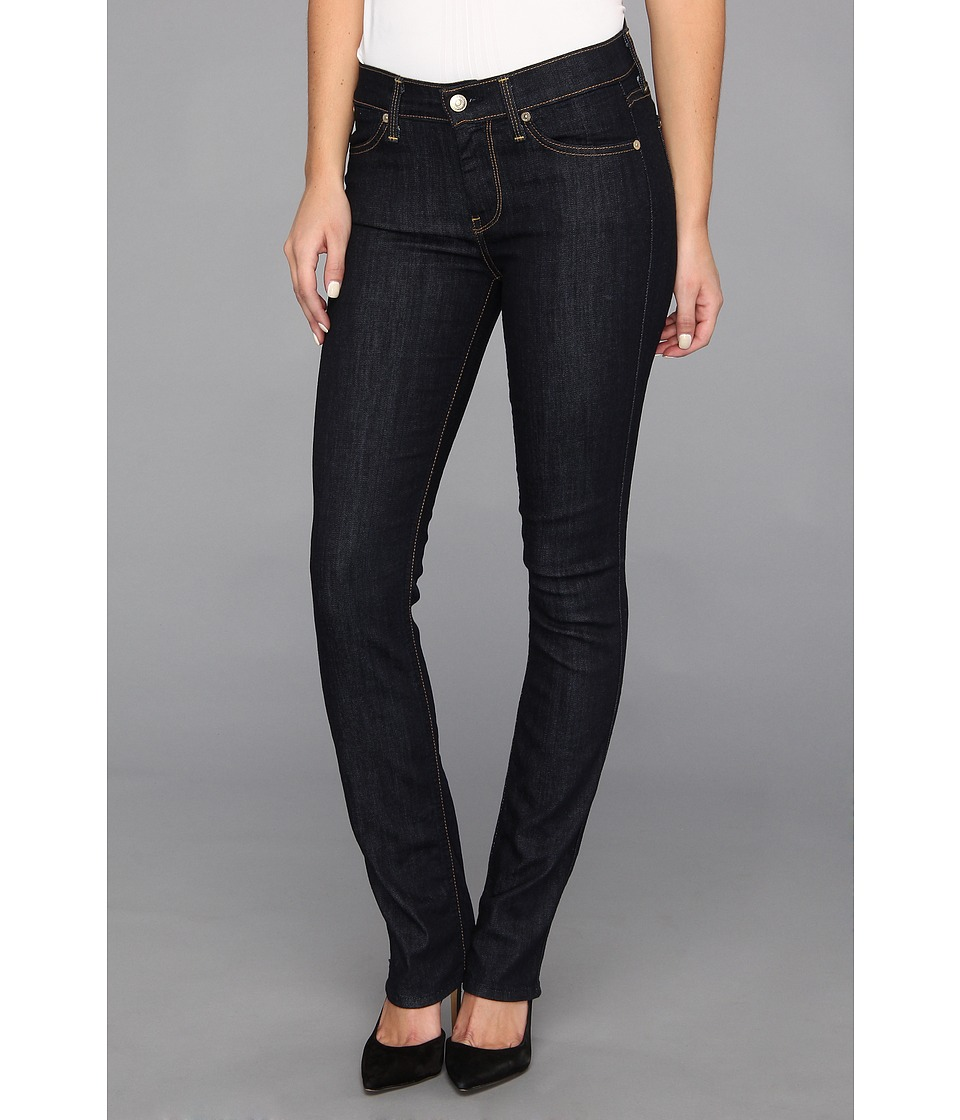 7 For All Mankind - The Modern Straight in Ink Rinse (Ink Rinse) Women