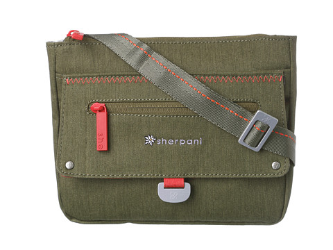 Sherpani - Zooma Medium Cross Body Bag (Olive) Cross Body Handbags