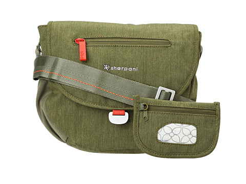 Sherpani - Milli Small Messenger Bag (Olive) Cross Body Handbags