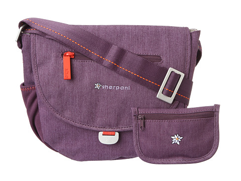 Sherpani - Milli Small Messenger Bag (Plum) Cross Body Handbags