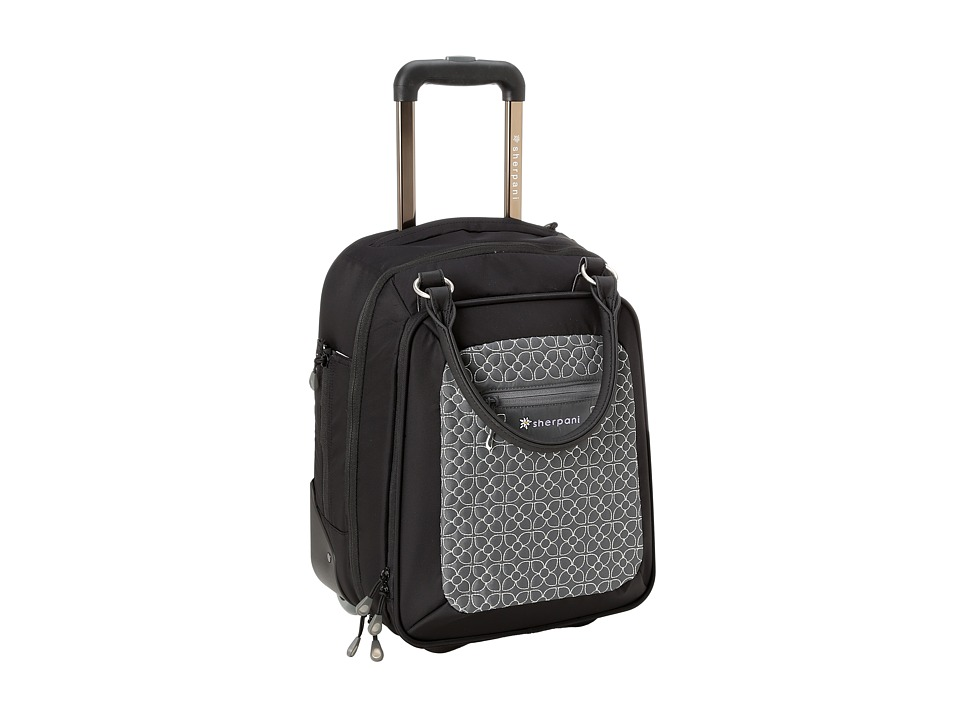 Sherpani - Vert LE Wheeled Travel Briefcase (Pewter/Black/Metal Crush/Nappa Wax) Briefcase Bags