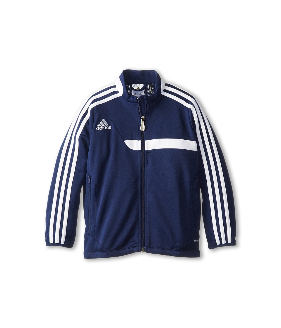 adidas Kids - Tiro 13 Training Jacket (Little Kids/Big Kids) (New Navy/New Navy/White) Kid's Jacket