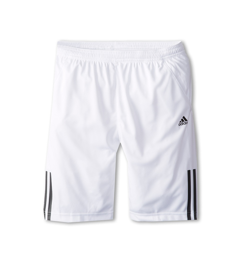 adidas Kids - Response Bermuda (Little Kids/Big Kids) (White/Black) Boy's Shorts