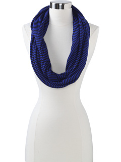 SALE! $16.99 - Save $21 on Splendid Mini Stripe Thermal Scarf (Blue Jewel) Accessories - 55.29% OFF $38.00