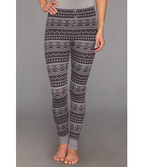 Splendid - Fair Isle Legging (Dark Slate) Women's Pajama