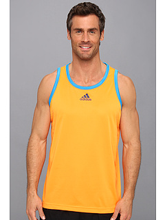 SALE! $16.99 - Save $8 on adidas All World Tank Top (Solar Zest Solar Blue) Apparel - 32.04% OFF $25.00