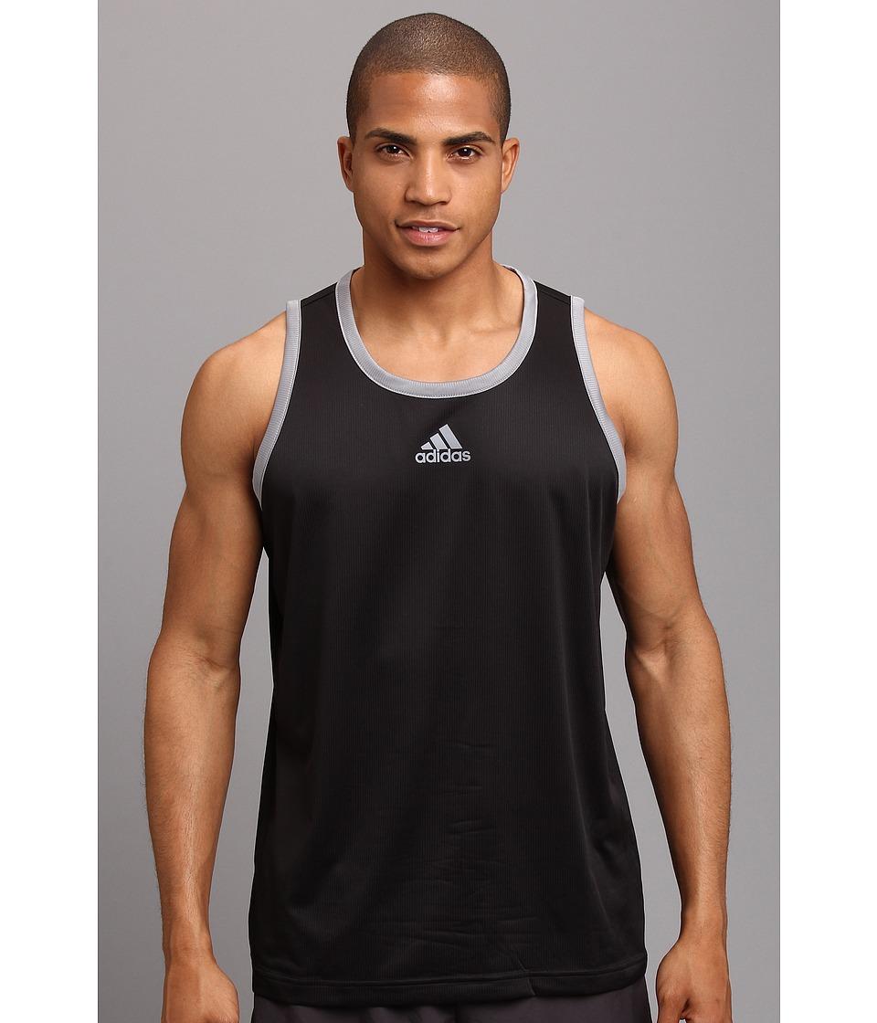 adidas - All-World Tank Top (Black/Tech Grey) Men's Sleeveless