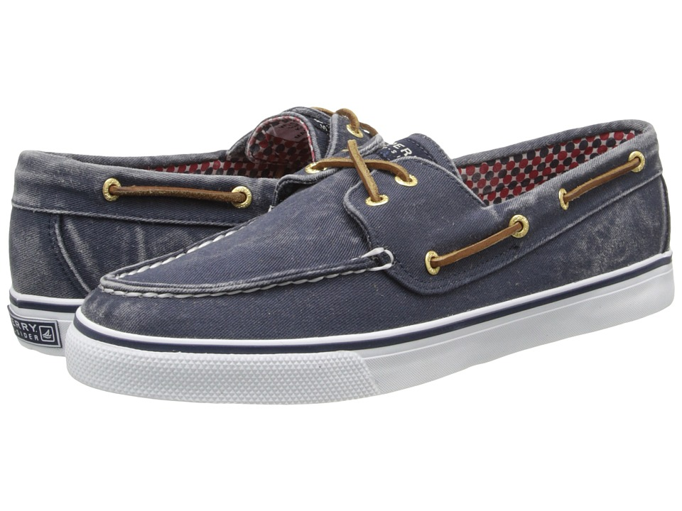 Sperry Top-Sider - Bahama 2-Eye (Navy Canvas) Women's Slip on Shoes