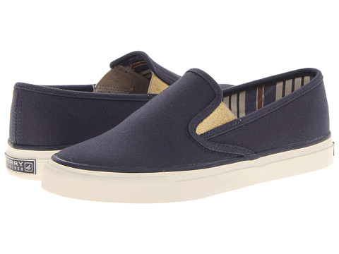Sperry Top-Sider 9266453 Navy Blue Slip-On Women's Shoes Size 5 M
