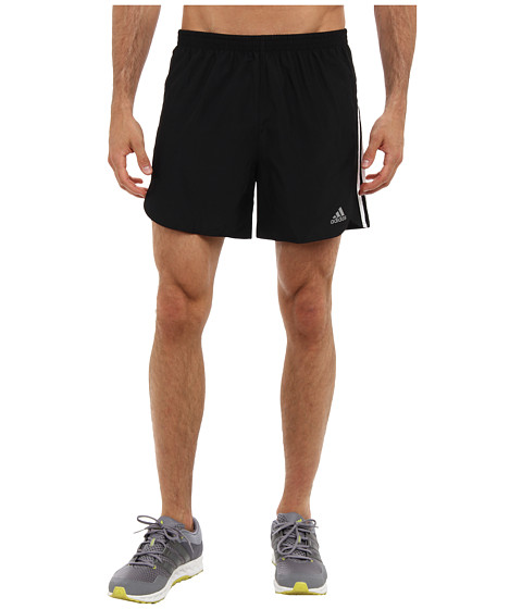 adidas - Response 5 Short (Black/White) Men's Shorts