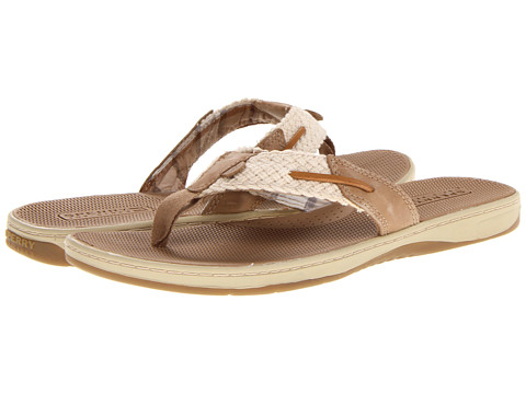 0a504fd06237 UPC 044211600673 product image for Sperry Top-Sider - Parrotfish (Ivory  Linen) UPC 044211600673 product image for Sperry Women s Parrotfish Thong  Sandal ...