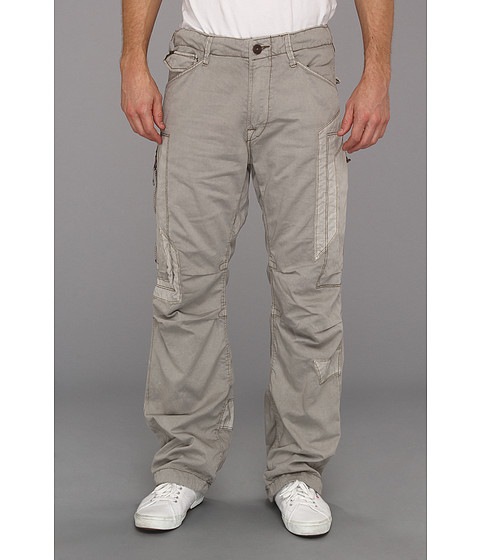 Jet Lag - MO-19 Cargo Pant (Grey) Men's Casual Pants