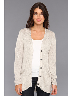 SALE! $89.99 - Save $108 on Michael Stars Sequin Long Sleeves Cardigan (Taupe) Apparel - 54.55% OFF $198.00