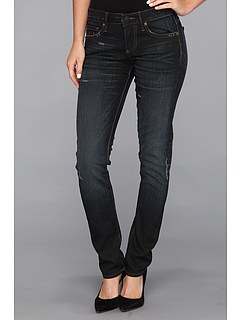 SALE! $106.99 - Save $131 on True Religion Jude Low Rise Skinny in Asphalt w Rips (Asphalt w Rips) Apparel - 55.05% OFF $238.00