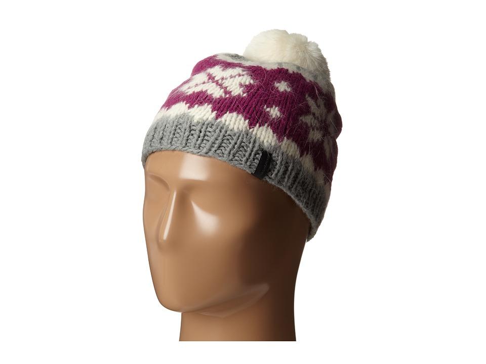 Seirus - Fluff Hat (Gray/Violet) Caps