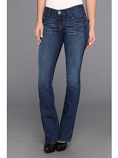 SALE! $59.99 - Save $138 on True Religion Becky Bootcut in Midnight Fog (Midnight Fog) Apparel - 69.70% OFF $198.00