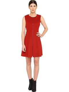 SALE! $249.99 - Save $165 on Theory Bonbi C Dress (Red) Apparel - 39.76% OFF $415.00