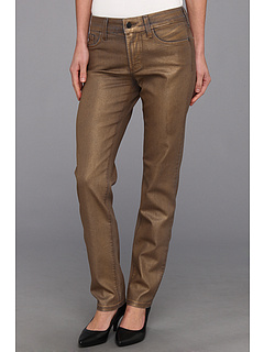SALE! $96.99 - Save $53 on NYDJ Sherry Skinny in Matte Gold Coating (Matte Gold Coating) Apparel - 35.34% OFF $150.00