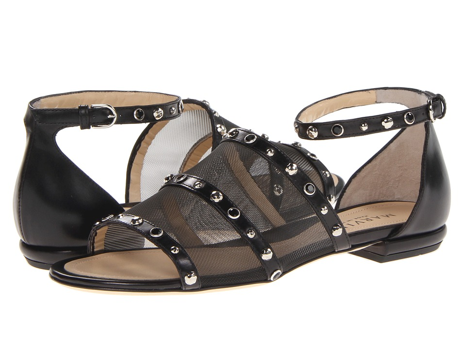 Aquatalia - Asia (Black Combo) Women's Sandals