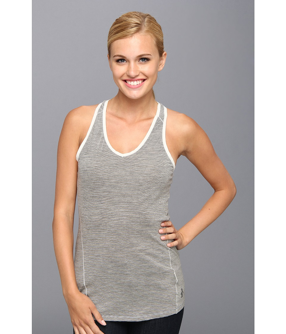 Smartwool - NTS Micro 150 Pattern Tank (Silver/Gray Heather) Women's Sleeveless