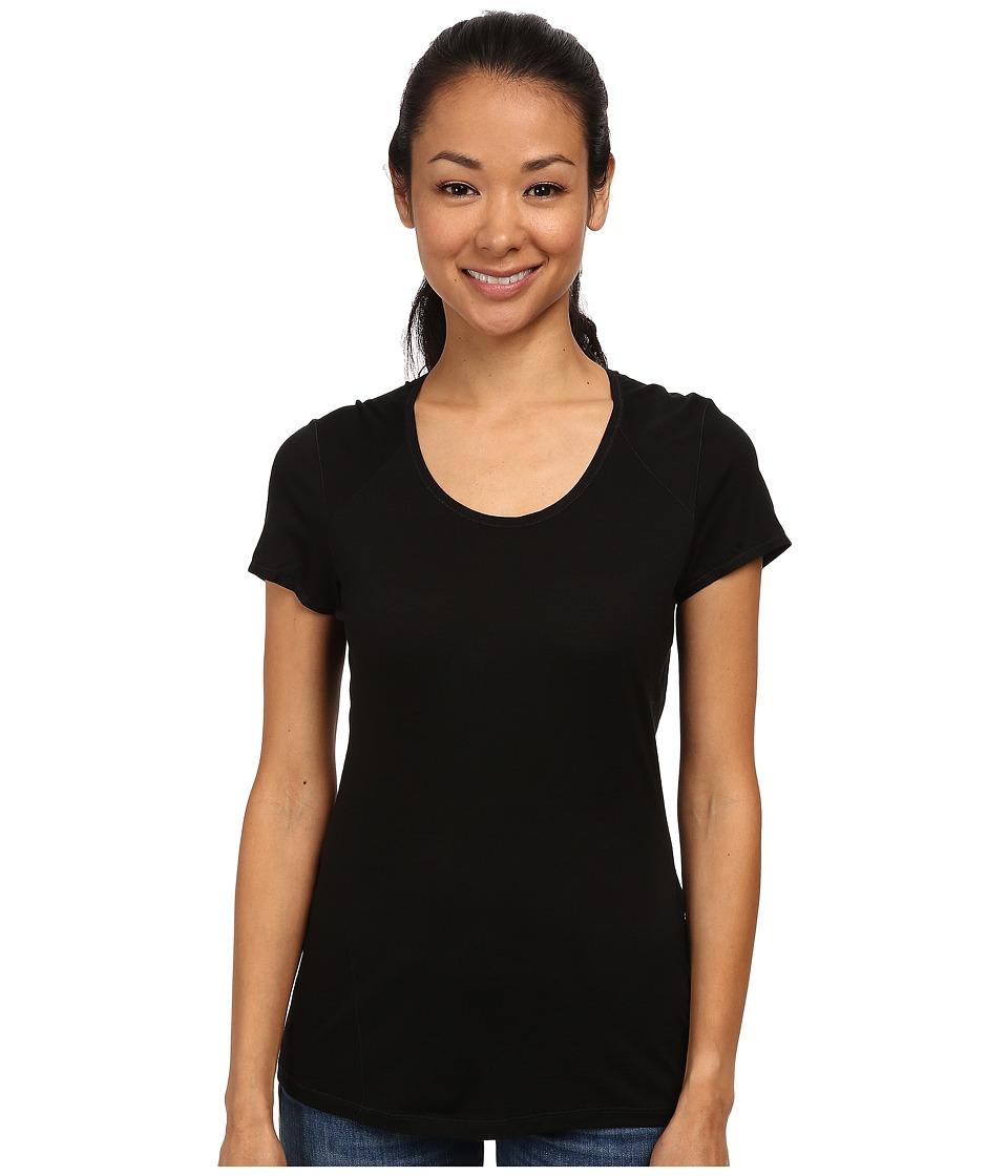 Smartwool - NTS Micro 150 Tee (Black) Women's T Shirt
