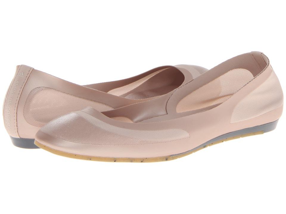 adidas by Stella McCartney - Florisuga Ballerina (Pearl Sand/Lead/Gum) Women's Flat Shoes
