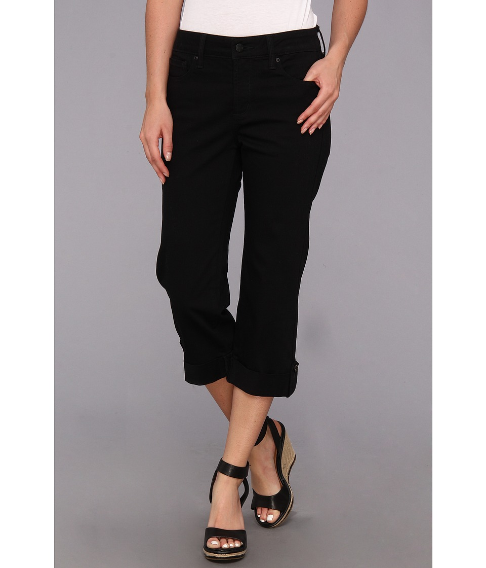 NYDJ - Lyris Crop (Black) Women's Capri