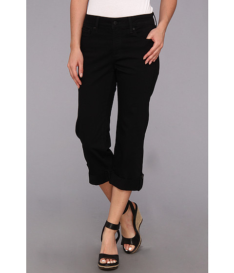NYDJ - Lyris Crop (Black) Women