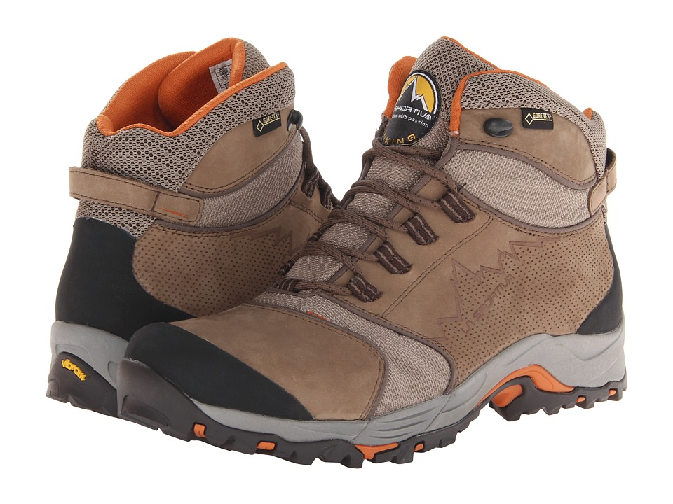 La Sportiva - FC Eco 3.0 GTX (Brown/Rust) Men's Hiking Boots