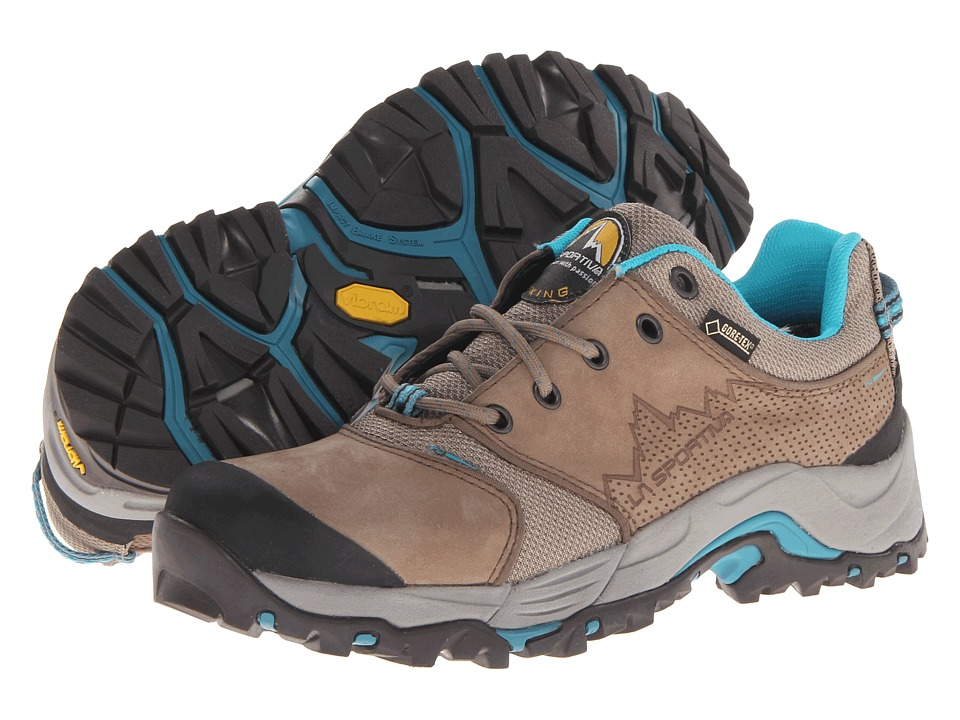 La Sportiva - FC Eco 2.0 GTX (Brown/Sea Blue) Women's Shoes