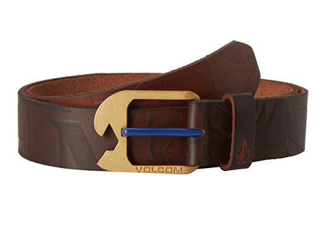 Volcom - Typo 1 1/2 Belt (Brown) Men's Belts