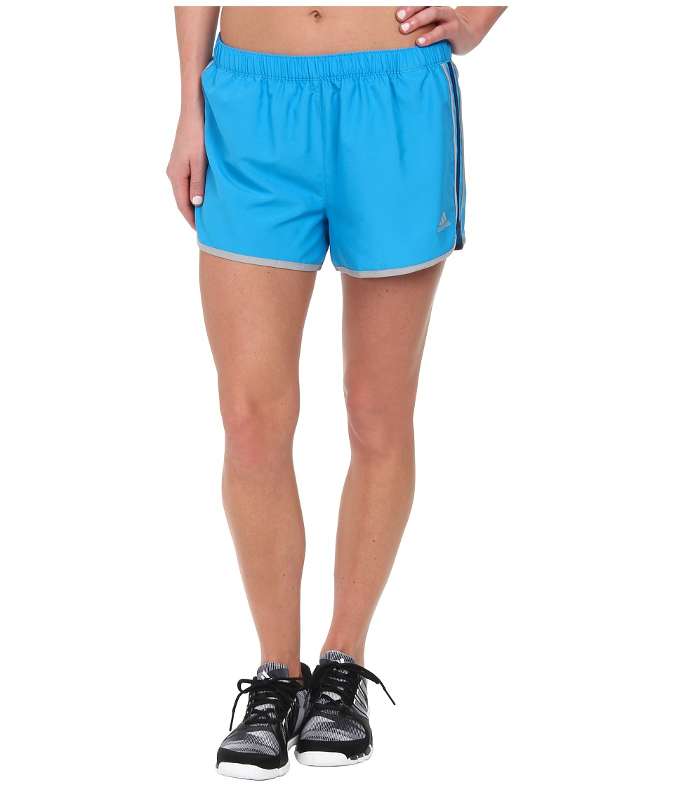 adidas - M10 Icon Short (Solar Blue/Tech Grey) Women's Shorts