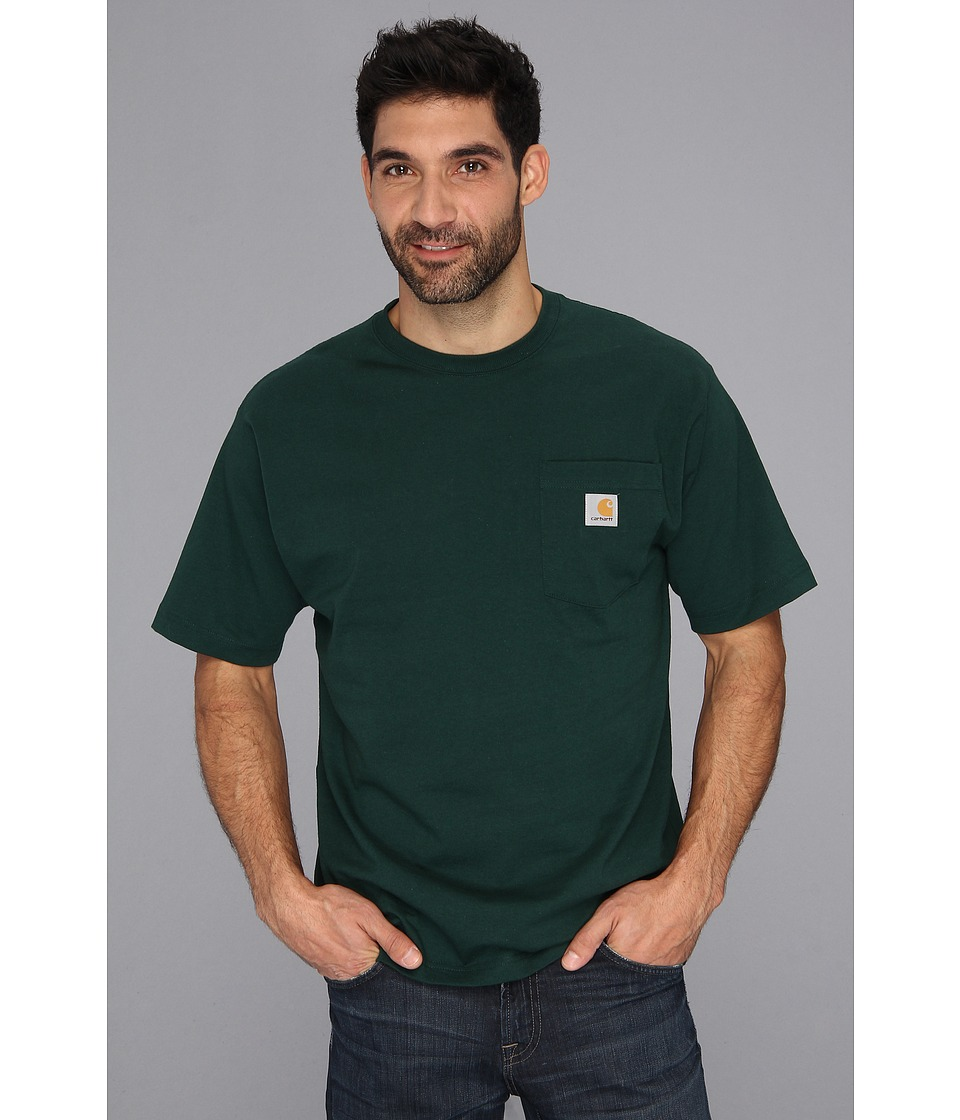 Carhartt - Workwear Pocket S/S Tee - Tall (Hunter Green) Men's T Shirt
