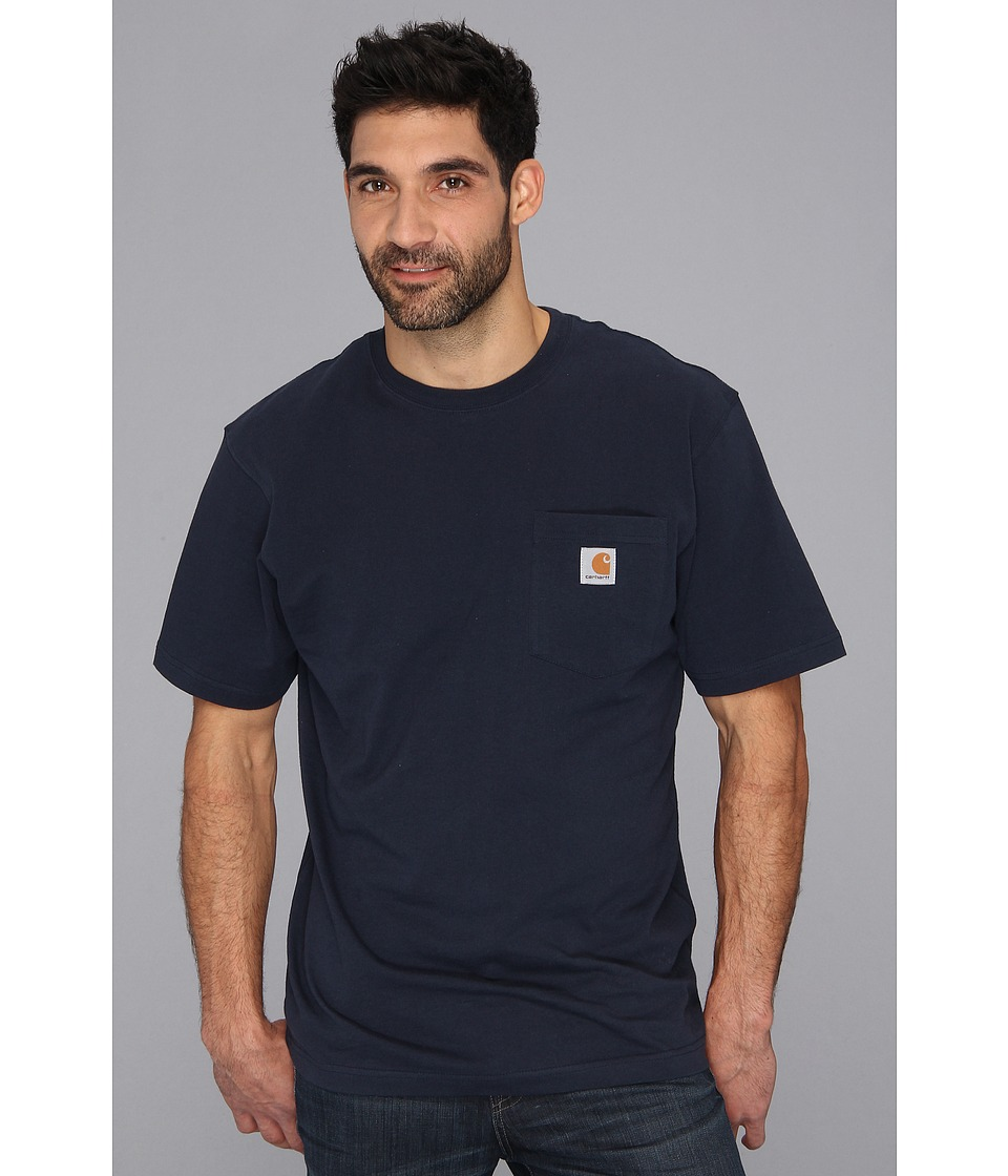 Carhartt - Workwear Pocket S/S Tee - Tall (Navy) Men's T Shirt