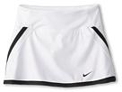 Nike Kids Power Skort (Little Kids/Big Kids) (White/Black)