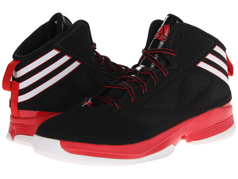 adidas - Mad Handle 2 (Black/Running White/Light Scarlet) Men