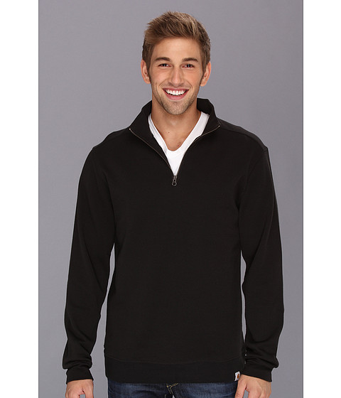 Carhartt - Sweater Knit Quarter Zip (Black) Men's Sweater