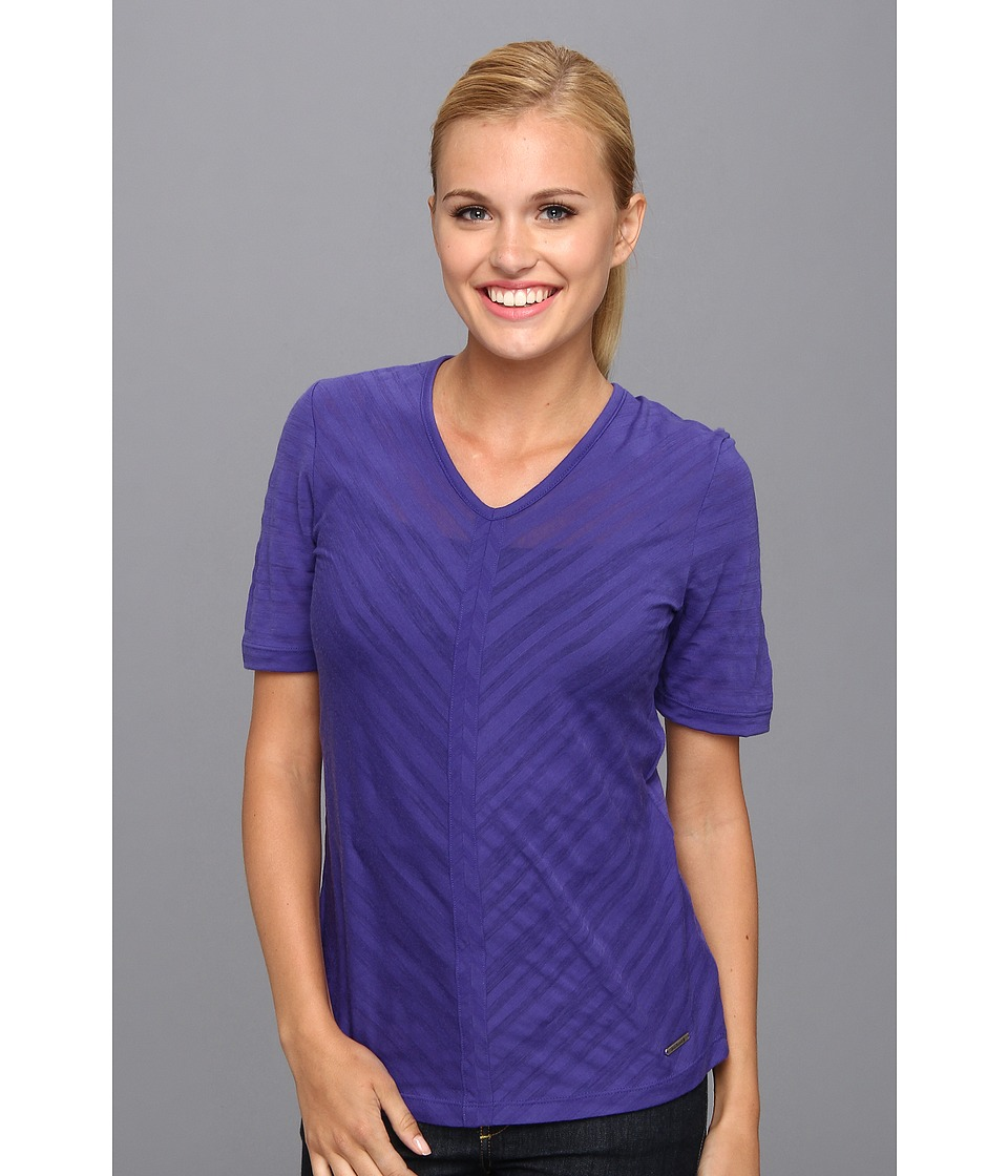 Smartwool - North Lake Burnout Tee (Liberty) Women