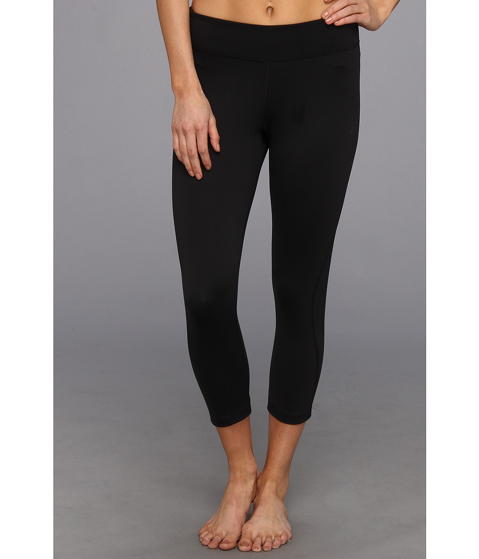 adidas - Ultimate Three-Quarter Tight (Black) Women's Capri