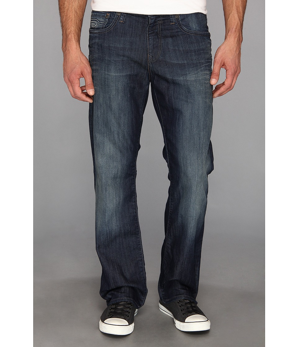 Mavi Jeans - Matt Mid-Rise Straight Leg in Deep Montana (Deep Montana) Men's Jeans