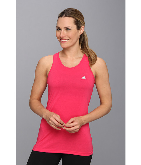 adidas - Ultimate S/L Top (Vivid Berry/Matte Silver) Women