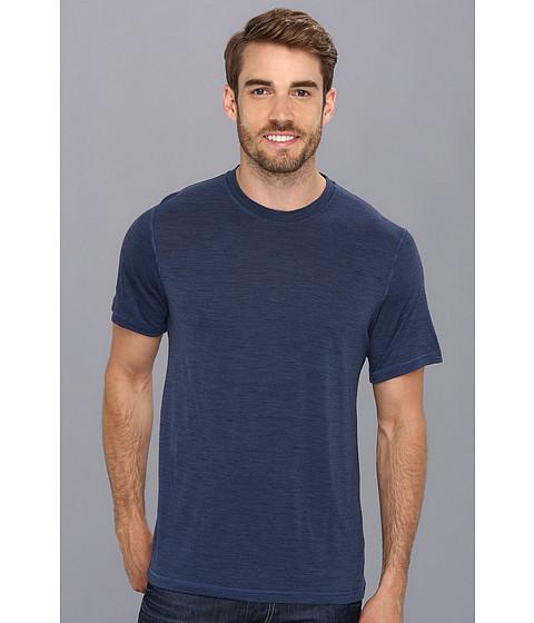 Smartwool - NTS Micro 150 Pattern Tee (Cadet Blue) Men's T Shirt