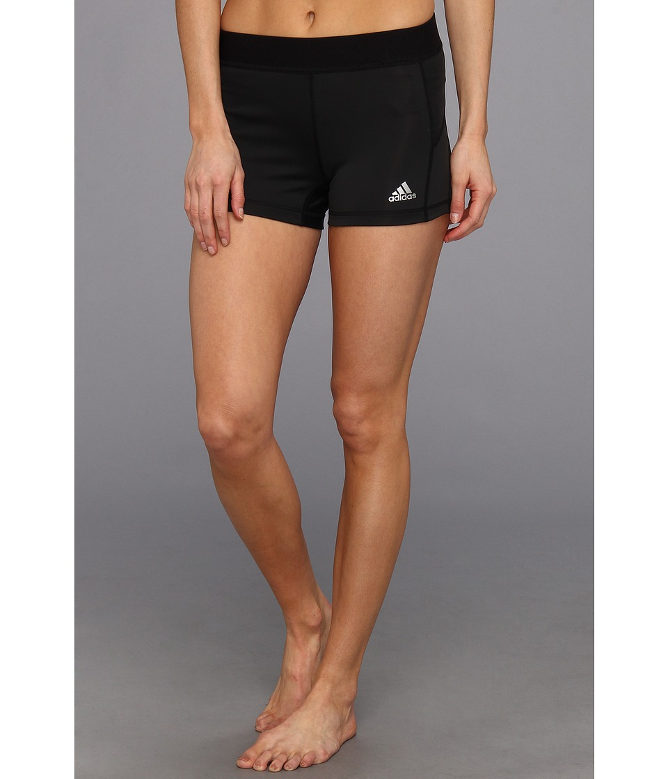 adidas - TechFit 3 Boy Short (Black) Women