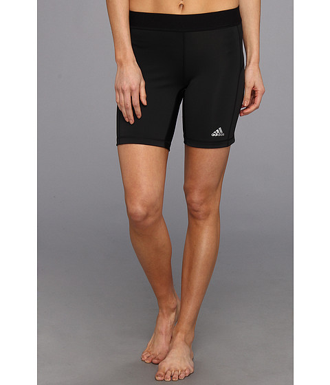 adidas - TECHFIT 7 Boy Short (Black) Women's Shorts