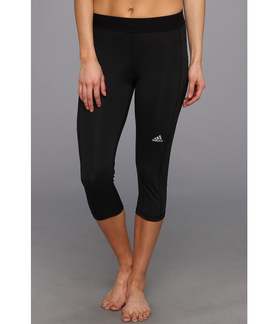 adidas - TECHFIT Capri Tight (Black) Women