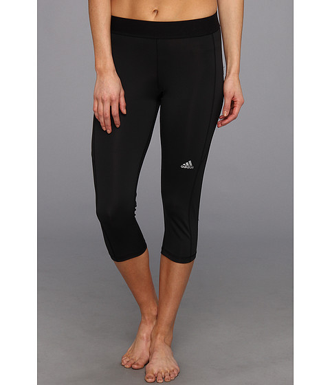 adidas - TECHFIT Capri Tight (Black) Women's Casual Pants